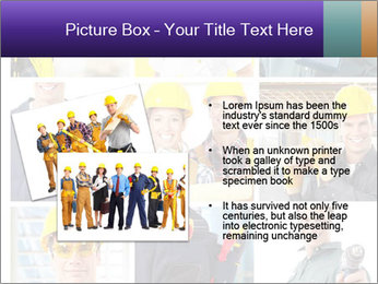 Construction Team Collage PowerPoint Template - Slide 20