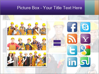 Construction Team Collage PowerPoint Templates - Slide 21