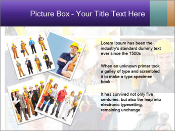 Construction Team Collage PowerPoint Template - Slide 23