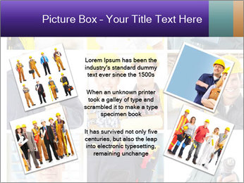 Construction Team Collage PowerPoint Template - Slide 24