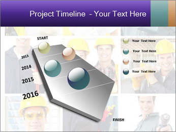 Construction Team Collage PowerPoint Templates - Slide 26
