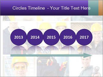 Construction Team Collage PowerPoint Template - Slide 29