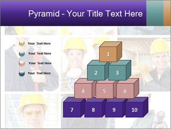 Construction Team Collage PowerPoint Template - Slide 31