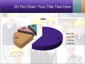 Construction Team Collage PowerPoint Template - Slide 35