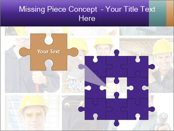 Construction Team Collage PowerPoint Template - Slide 45