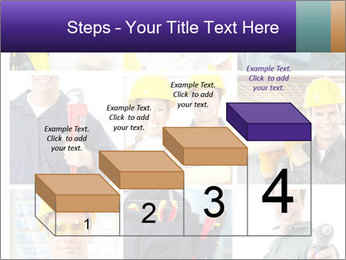Construction Team Collage PowerPoint Templates - Slide 64