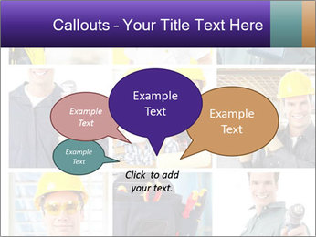 Construction Team Collage PowerPoint Template - Slide 73