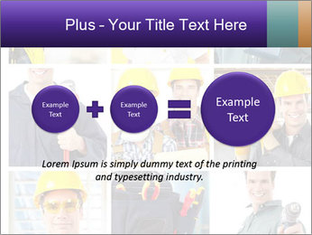 Construction Team Collage PowerPoint Templates - Slide 75