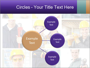 Construction Team Collage PowerPoint Template - Slide 79