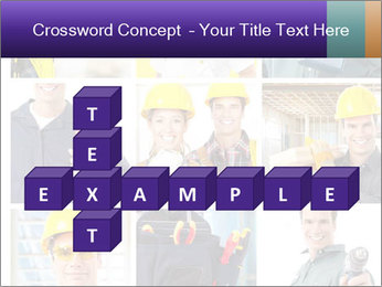 Construction Team Collage PowerPoint Template - Slide 82