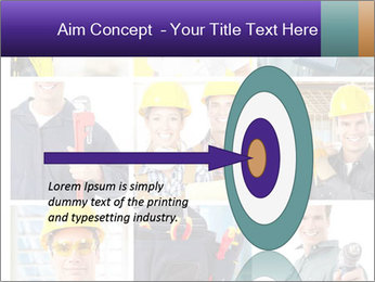 Construction Team Collage PowerPoint Template - Slide 83