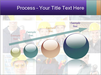 Construction Team Collage PowerPoint Template - Slide 87