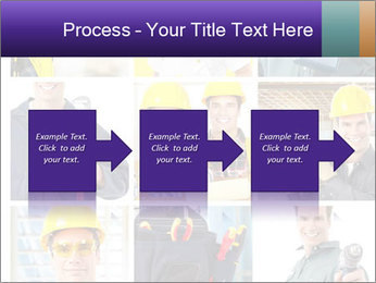 Construction Team Collage PowerPoint Template - Slide 88