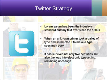 Construction Team Collage PowerPoint Template - Slide 9