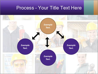 Construction Team Collage PowerPoint Template - Slide 91
