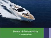Summer Yacht PowerPoint Template