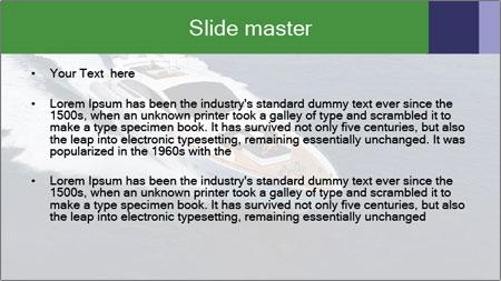Summer Yacht PowerPoint Template - Slide 2