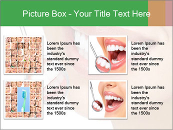 Perfect White Teeth PowerPoint Template - Slide 14