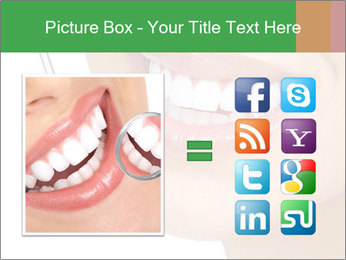 Perfect White Teeth PowerPoint Template - Slide 21