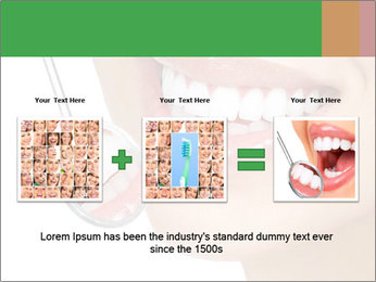 Perfect White Teeth PowerPoint Template - Slide 22