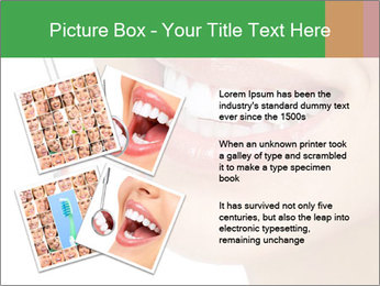 Perfect White Teeth PowerPoint Template - Slide 23
