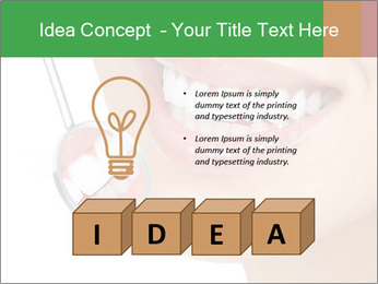 Perfect White Teeth PowerPoint Template - Slide 80
