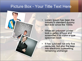 Busy Student PowerPoint Templates - Slide 17