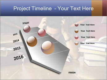 Busy Student PowerPoint Templates - Slide 26