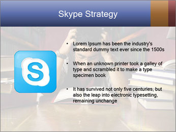Busy Student PowerPoint Templates - Slide 8