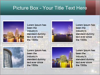 Cityscape At Night PowerPoint Template - Slide 14