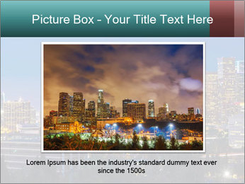 Cityscape At Night PowerPoint Template - Slide 15