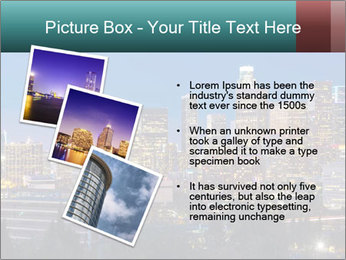 Cityscape At Night PowerPoint Template - Slide 17