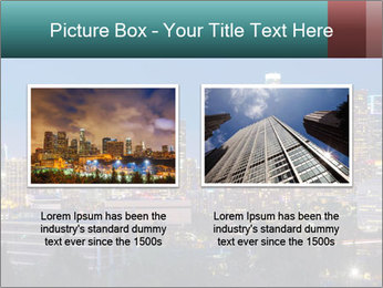 Cityscape At Night PowerPoint Template - Slide 18