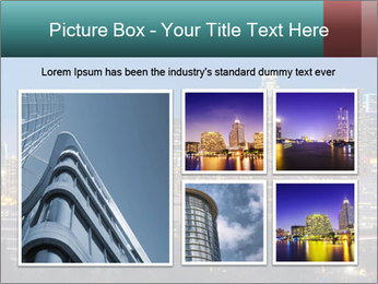Cityscape At Night PowerPoint Template - Slide 19