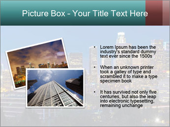 Cityscape At Night PowerPoint Template - Slide 20