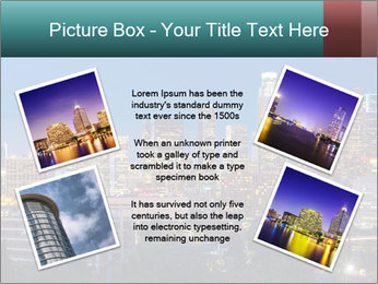 Cityscape At Night PowerPoint Template - Slide 24