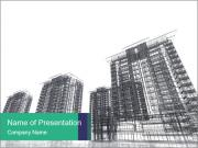 Grey Buildings PowerPoint Templates