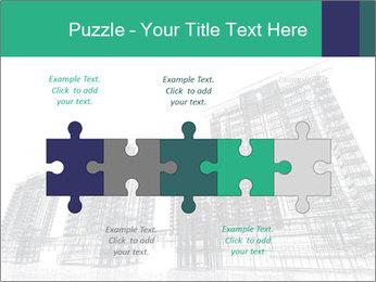 Grey Buildings PowerPoint Template - Slide 41