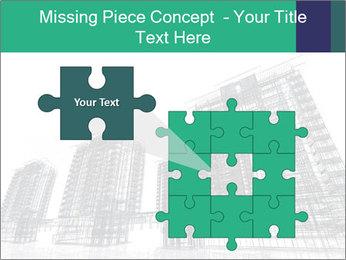 Grey Buildings PowerPoint Template - Slide 45