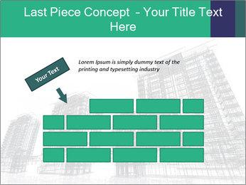 Grey Buildings PowerPoint Template - Slide 46