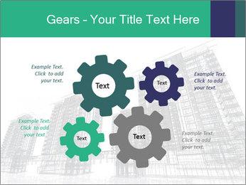 Grey Buildings PowerPoint Template - Slide 47