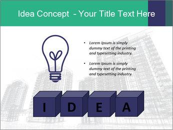 Grey Buildings PowerPoint Template - Slide 80
