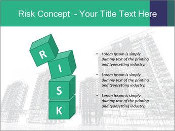 Grey Buildings PowerPoint Template - Slide 81