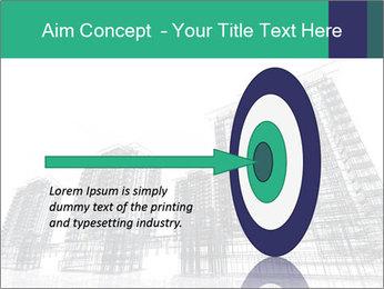 Grey Buildings PowerPoint Template - Slide 83