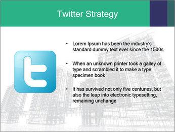 Grey Buildings PowerPoint Template - Slide 9