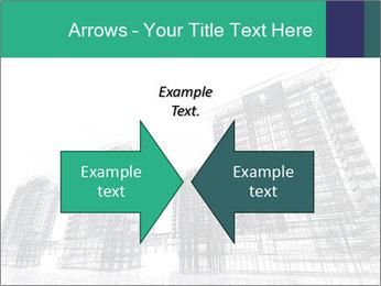 Grey Buildings PowerPoint Template - Slide 90