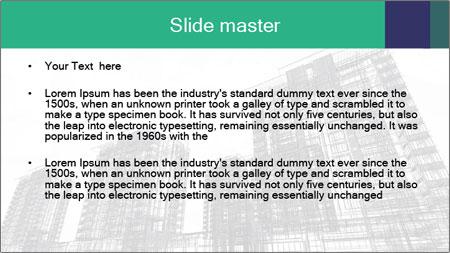 Grey Buildings PowerPoint Template - Slide 2