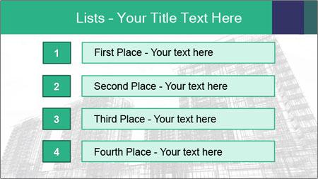 Grey Buildings PowerPoint Template - Slide 3