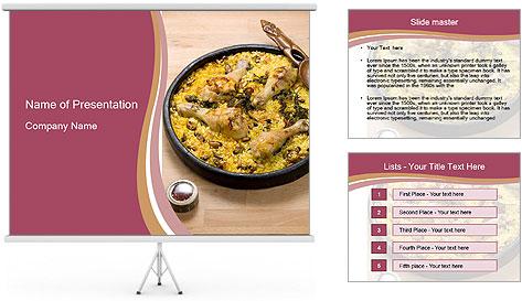 Spanish Dish PowerPoint Template