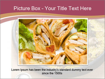 Spanish Dish PowerPoint Template - Slide 16